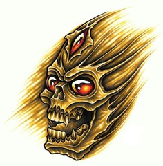 Trip S Tattoo Flash 1365