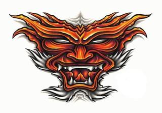 Trip S Tattoo Flash 1375