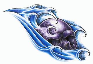 Trip S Tattoo Flash 1379