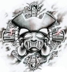 Trip S Tattoo Flash 1382