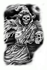 Trip S Tattoo Flash 1452