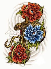 Trip S Tattoo Flash 1459