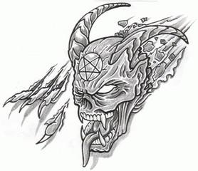 Trip S Tattoo Flash 1460