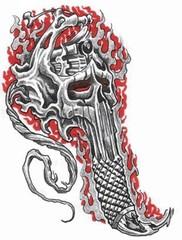 Trip S Tattoo Flash 1471