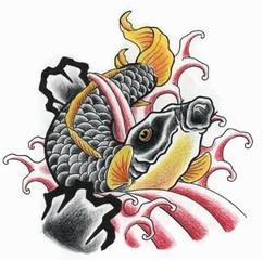Trip S Tattoo Flash 1472