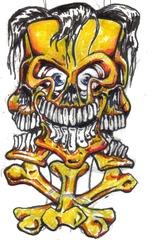 Trip S Tattoo Flash 1629