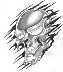 Trip S Tattoo Flash 1635