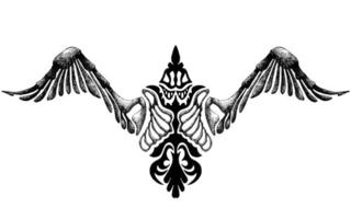 Trip S Tattoo Flash 1652