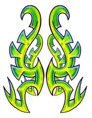 Trip S Tattoo Flash 1716