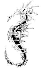Trip S Tattoo Flash 1734