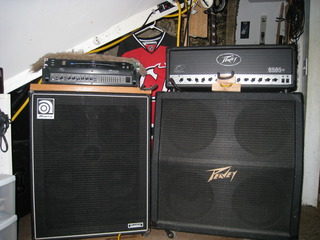 My main Amps.