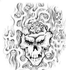 Trip S Tattoo Flash 1891