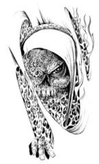 Trip S Tattoo Flash 2324