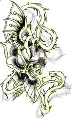 Trip S Tattoo Flash 2400