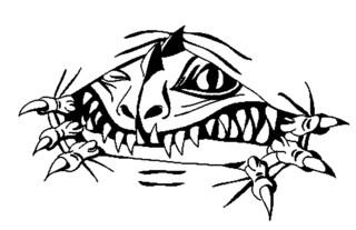 Trip S Tattoo Flash 2573