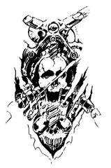 Trip S Tattoo Flash 2578