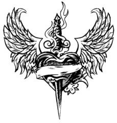 Trip S Tattoo Flash 2628