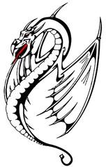 Trip S Tattoo Flash 2717