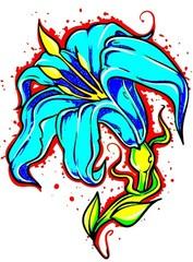 Trip S Tattoo Flash 2841
