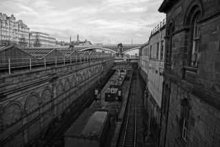 Tågstationen Edin