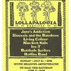 19910721 Lollapalooza Flyer