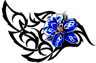 Trip S Tattoo Flash 3636