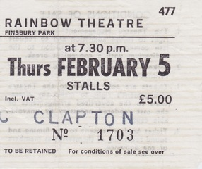 Clapton Rainbow