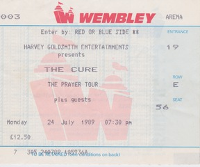 Cure Wembley