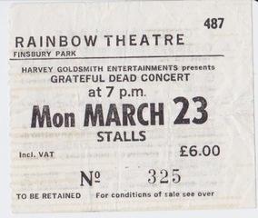 Dead Ticket 1981