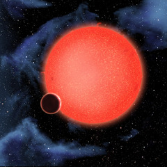 Artist View Of Extrasolar Planter Gj1214b