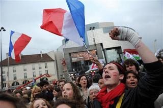 La Bastille Symbole De La Victoire Du Peuple De Gauche Depuis Mai 1981 Photo Afp