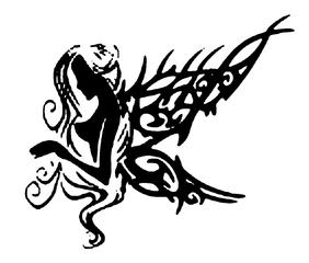 Trip S Tattoo Flash 3846