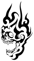 Trip S Tattoo Flash 3852