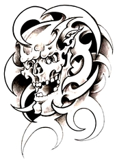 Trip S Tattoo Flash 3854