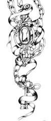 Trip S Tattoo Flash 3867