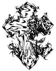 Trip S Tattoo Flash 3871