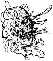 Trip S Tattoo Flash 3987