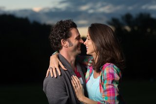 Dweezil and Megan Zappa