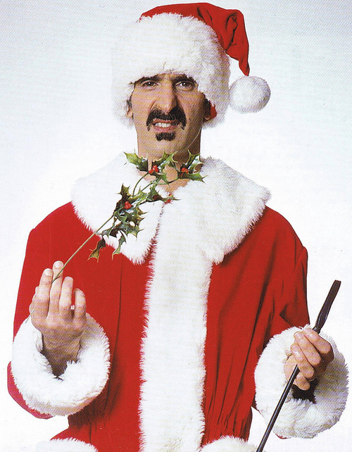 Frank Zappa Xmas Head
