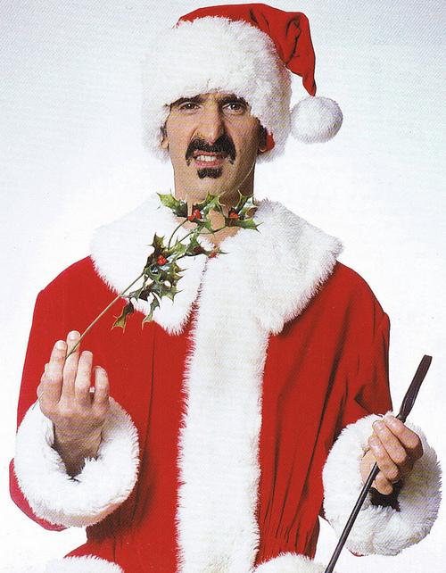 Frank Zappa Xmas Head