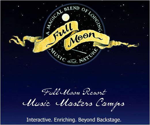 Full Moon Music Full Moon Located One Half