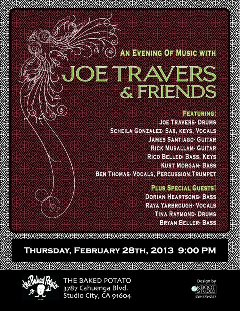 Joe Travers Flyer