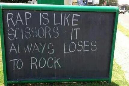 Rock Rap Scissors