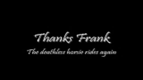 Thanks Frank