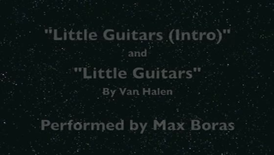 Little Guitars (Intro) and Little Guitars