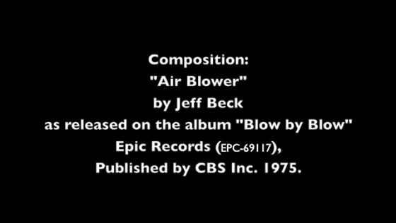 """Air Blower"" by Jeff Beck covered by Max Boras"