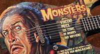 ESP Creates An Amazing 'Famous Monsters Vincent Price' Guitar