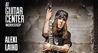 Alexi Laiho ESP Clinic This Saturday at Guitar Center Hollywood