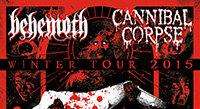 Behemoth on Winter 2015 Co-Headlining Tour