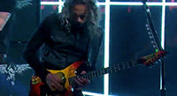 """Metallica Takes Over """"The Late Late Show"""""""